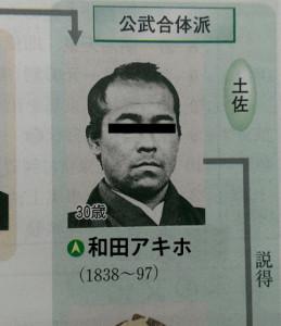 和田アキホ_土佐藩士